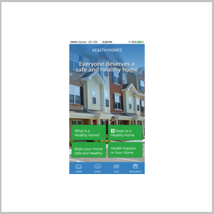 Penngood LLC designs H.U.D. Healthy Homes Basic Mobile Application